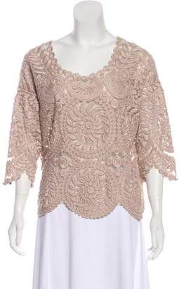 Yoana Baraschi Knit Long Sleeve Top