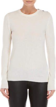 Brodie Star Elbow Cashmere Sweater