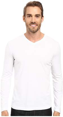 Mod-o-doc Cardiff Long Sleeve Jersey V-Neck Tee Men's T Shirt