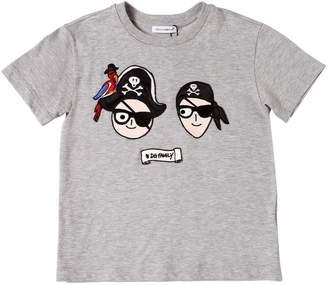 Dolce & Gabbana Pirates Family Cotton Jersey T-Shirt