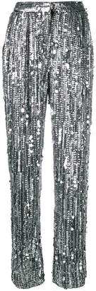 Alberta Ferretti sequin embellished trousers