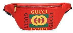 Gucci Logo Print Belt Bag