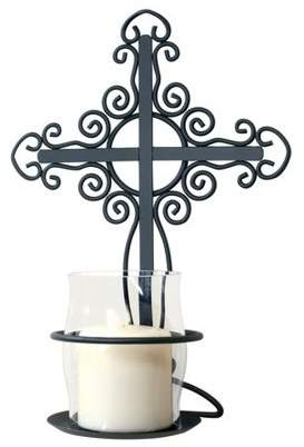 Inspirational Candles & Accessories Cross Wall Sconce