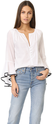 MISA Segall Top $198 thestylecure.com