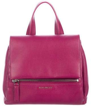 Givenchy Leather Pandora Pure Satchel