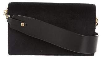 Diane von Furstenberg Velvet Soirée Crossbody Bag