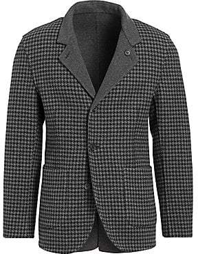 Brunello Cucinelli Men's Reversible Houndstooth Single-Breasted Jacket