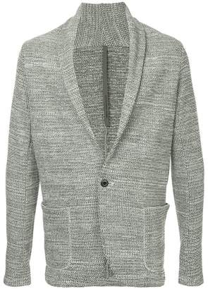 Attachment slouchy blazer