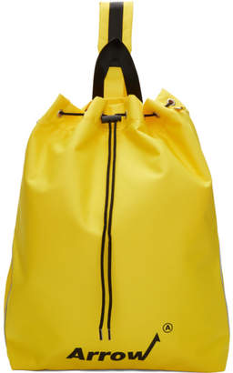 Ader Error ADER error Yellow Arrow Cross Backpack
