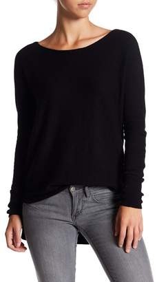 Susina Hi-Lo Long Sleeve Sweater