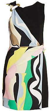 Emilio Pucci Women's Vallauris Stretch Cady Wrap Dress