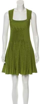 Alaia Flared Knit Dress