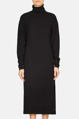 Lemaire Turtleneck Long Dress - Black