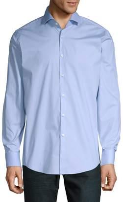 HUGO Long-Sleeve Button-Down Dress Shirt