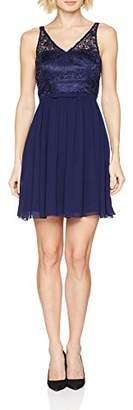 Vera Mont Women's 2082/9950 Party Dress, Blue (Medieval Blue 8342), 14