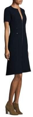 Lafayette 148 New York Sonya Crepe A-Line Dress