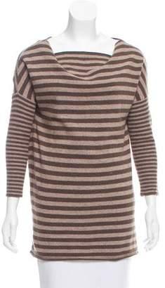 Alice + Olivia Wool-Blend Striped Sweater