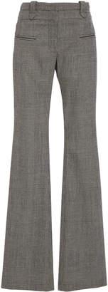 Altuzarra Serge Plaid Wool-Blend Straight-Leg Pants