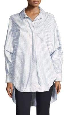 Opening Ceremony Striped Button-Front Shirt