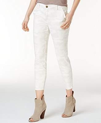 William Rast Women's Crop Skinny Cargo Pant