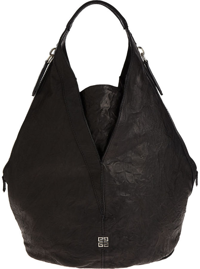 Givenchy Tinhan Old Pepe Hobo - Black