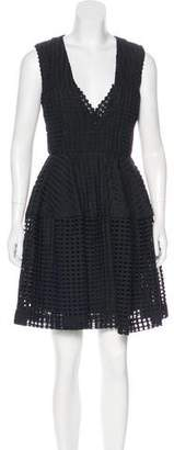 Nicholas Grid Lace Dress w/ Tags