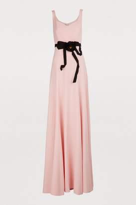 Gucci Long jersey dress