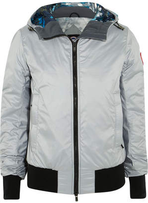 Canada Goose - Dore Hooded Shell Down Jacket - Gray $550 thestylecure.com