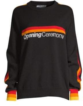 Opening Ceremony Logo Knit Sweater