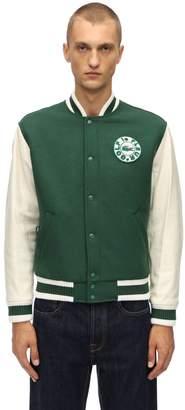 Lacoste X Tyler The Creator Golf Le Fleur Wool Blend Bomber Jacket