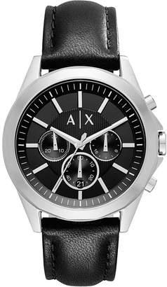 Chronograph watch schwarz