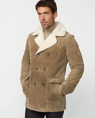 Le Château Suede Double Breasted Jacket
