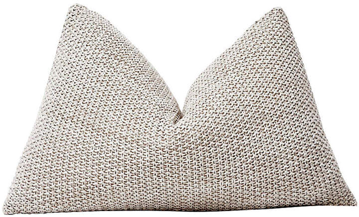 Sand Knit & Linen Pillow