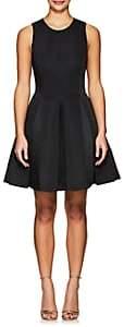 Halston WOMEN'S SLEEVELESS FIT & FLARE DRESS-BLACK SIZE 6