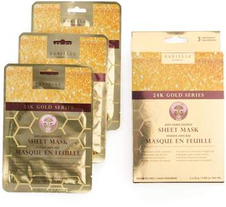 Danielle Creations Anti-Aging Essence Sheet Mask 3-Pack