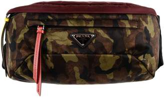 Prada Camouflage Print Belt Bag