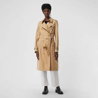 b6acd9dc701f Burberry The Long Kensington Heritage Trench Coat