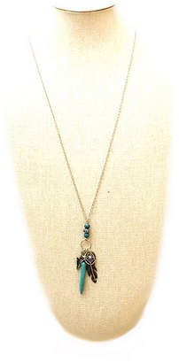 Arizona Womens Blue Pendant Necklace