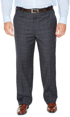 STAFFORD Stafford Woven Suit Pants-Big and Tall