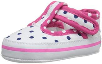 Gerber Girls' White Polka MJ/Sneaker-K Navy