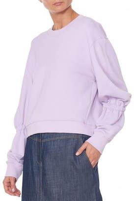 Tibi Spring Balloon Sweatshirt