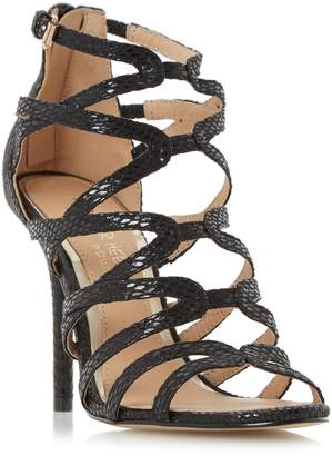 Head Over Heels MEEMI - Strappy Caged High Heel Sandal