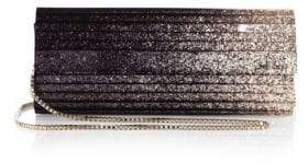 Jimmy Choo Sweetie Degrade Glitter Clutch