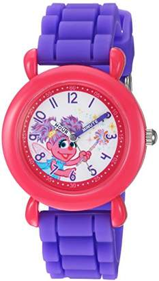 EWatchFactory Girl's 'Sesame Street' Quartz Plastic and Silicone Casual Watch