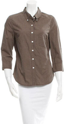 Boy. by Band of Outsiders Plaid Top $45 thestylecure.com