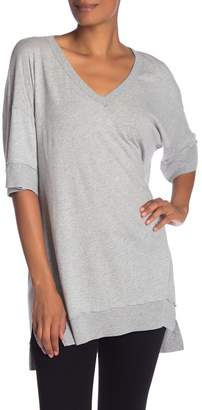 Michael Stars Hi-Lo V-Neck Tunic