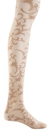 Dkny vintage scroll tights