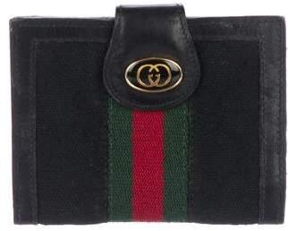 Gucci Vintage Web Cardholder