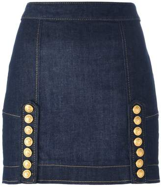 DSQUARED2 Livery denim mini skirt