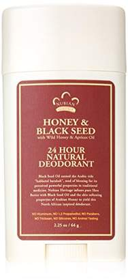Nubian Heritage Honey and Black Seed Deodorant With Wild Honey and Apricot Oil